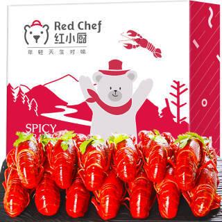星农联合红小厨 麻辣小龙虾1.5kg 4-6钱/25-38只 净虾750g 火锅食材 海鲜水产 *5件 144.15元(合28.83元/件)