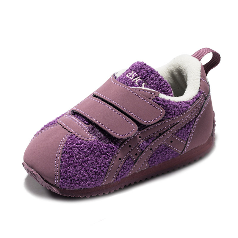 ASICS亚瑟士魔术贴包裹时尚男女幼儿鞋休闲鞋运动鞋1144A005-500 209元