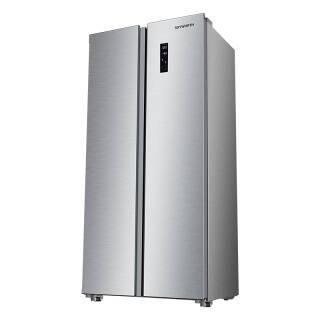 创维(Skyworth)478升对开门冰箱 双变频电机 风冷无霜 纤薄箱体 W48AP(月光银) 2299元