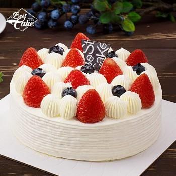 京东商城 限地区: Best Cake 贝思客 双莓落雪蛋糕 1磅 68元包邮(双重优惠)