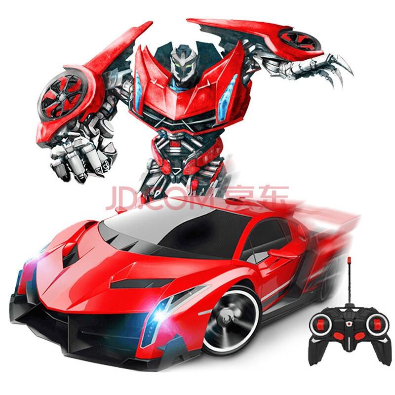 ¥39.9 1:18儿童遥控车变形机器人玩具