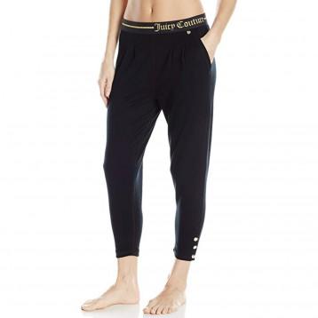 278元入手!美国直邮:Juicy Couture 黑标女士Lurex 标志休闲裤 2折 直邮中国 ¥254.5
