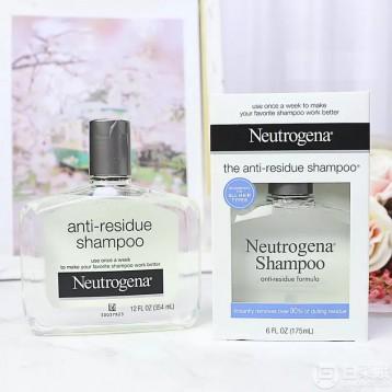 88元入手!每周一次深度清洁头皮:美国Neutrogena露得清 去残留洗发水354ml 4.6折 直邮中国 ¥88