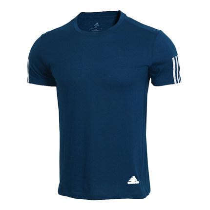 adidas阿迪达斯 男子RUN IT TEE SOFT圆领短T恤 促销价159