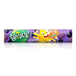 雀巢趣满果 休闲零食 黑加仑味果汁软糖140g *2件 23.86元(合11.93元/件)