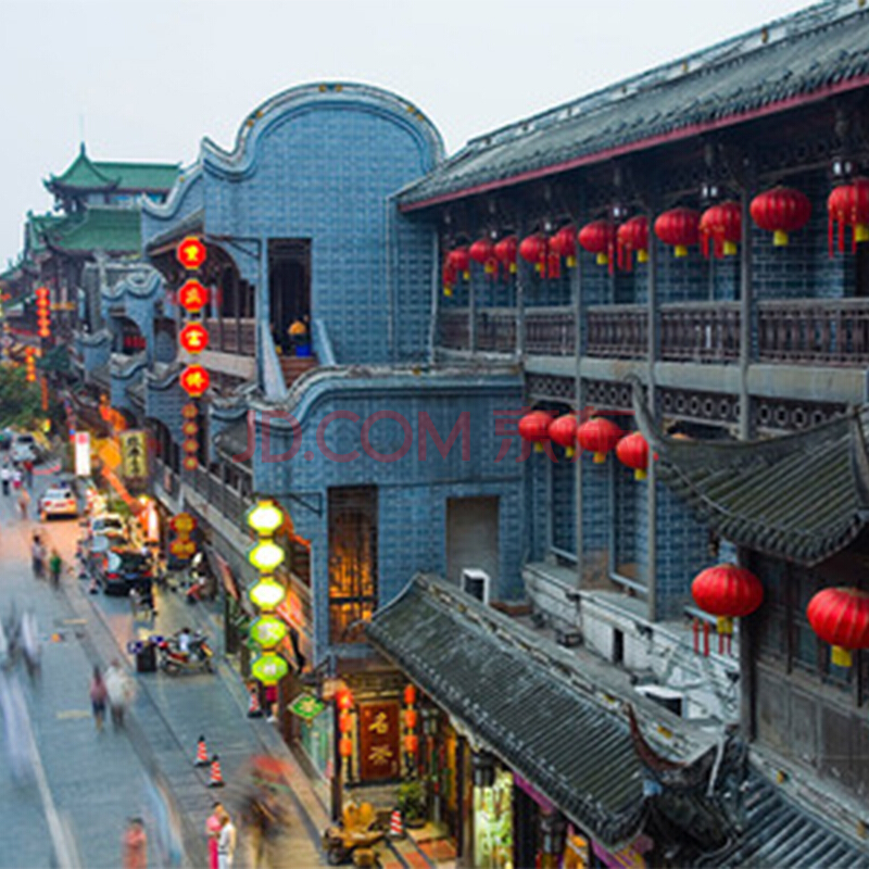 暑假!北京-成都6天往返含税机票+首晚酒店 2040元起/人(券后)