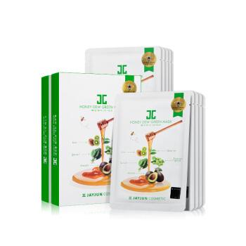 JAYJUN 绿蔬 蜂蜜 面膜 5片装 *3件 73.5元 ¥74