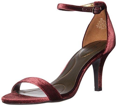 限37-38码 Bandolino 女士 Madia 高跟凉鞋 紫色 prime含税到手约150元