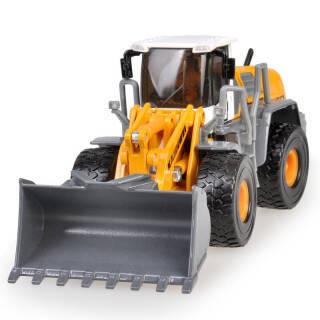 凯迪威 仿真玩具工程汽车模型 合金车模1:40声光铲车模型大型铲车装载机儿童玩具车男孩玩具 黄色 *5件 311.5元(合62.3元/件)