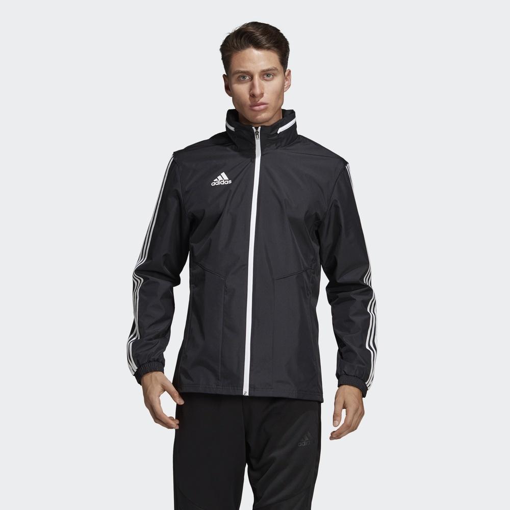 阿迪达斯官方 adidas 足球 男子 足球茄克 D95937 249元