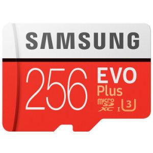¥229 SAMSUNG 三星 EVO Plus MicroSD存储卡 256GB
