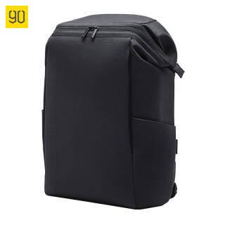90分 大容量电脑包15.6寸 黑色通勤包 男士背包 轻便休闲双肩包男 旅行背包 书包 84元