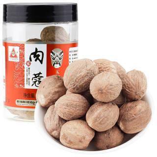 川珍 肉蔻 厨房调料卤料香料火锅底料炖肉料55g罐装 *2件 20.64元(合10.32元/件)