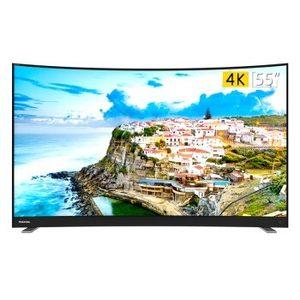 19日0点: TOSHIBA 东芝 55U6780C 55英寸 4K 曲面 液晶电视 2359元包邮