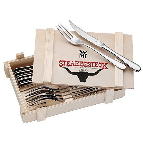 爆料有奖: WMF 福腾宝 牛排刀叉餐具套装 12件套prime会员到手226.9元