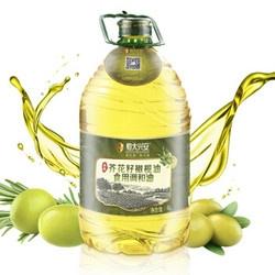 19日10点、88VIP:恒大兴安 清香芥花籽橄榄油 调和油 4L *2件 54.8元包邮(前15分钟) ¥55