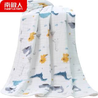 南极人(Nan ji ren) 婴儿浴巾 *5件 149.5元(合29.9元/件)