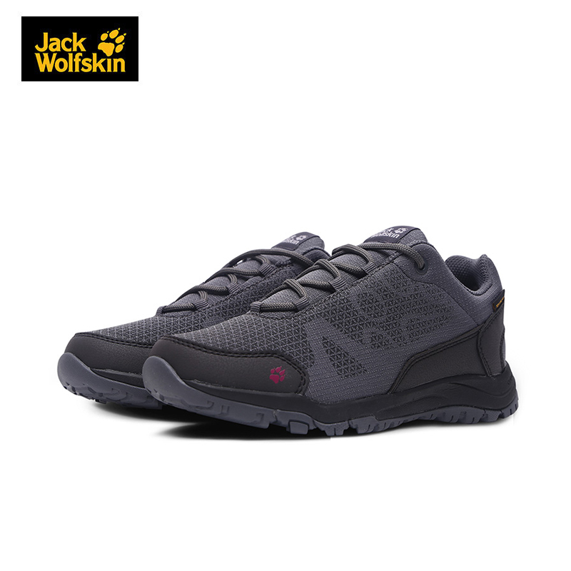 JackWolfskin狼爪户外透气舒适耐磨防水女士徒步远足鞋4030741 *2件 478.4元(合239.2元/件)