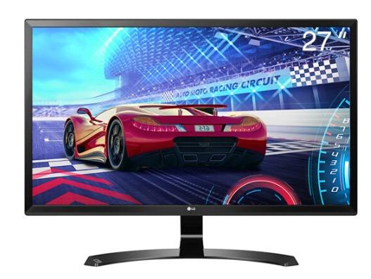 16点 LG 27UD58-B 27英寸 4K IPS显示器(3840×2160、FreeSync) 1749元