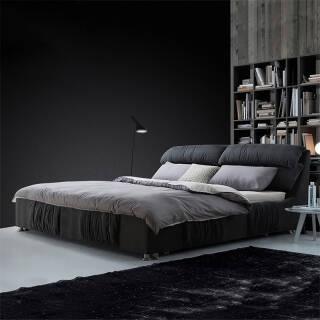 双人床小户型可拆洗双人主卧室软包床婚床 1.5米床  券后2499元