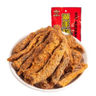 遛洋狗 麻辣牛肉干肉脯 特产美食小吃108g *4件 73.72元(合18.43元/件)
