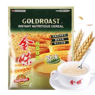 金味营养麦片原味 600g袋装 谷物含糖即食燕麦 内含20小包 *6件 167.48元(合27.91元/件)