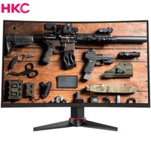 HKC 惠科 G271F 27英寸 VA曲面电竞显示器(144Hz、FreeSync、1800R、1ms) 1299元包邮