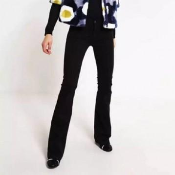 限W26码,7 For All Mankind Charlize 女士中腰阔腿牛仔裤 1.8折 直邮中国 ¥220.32