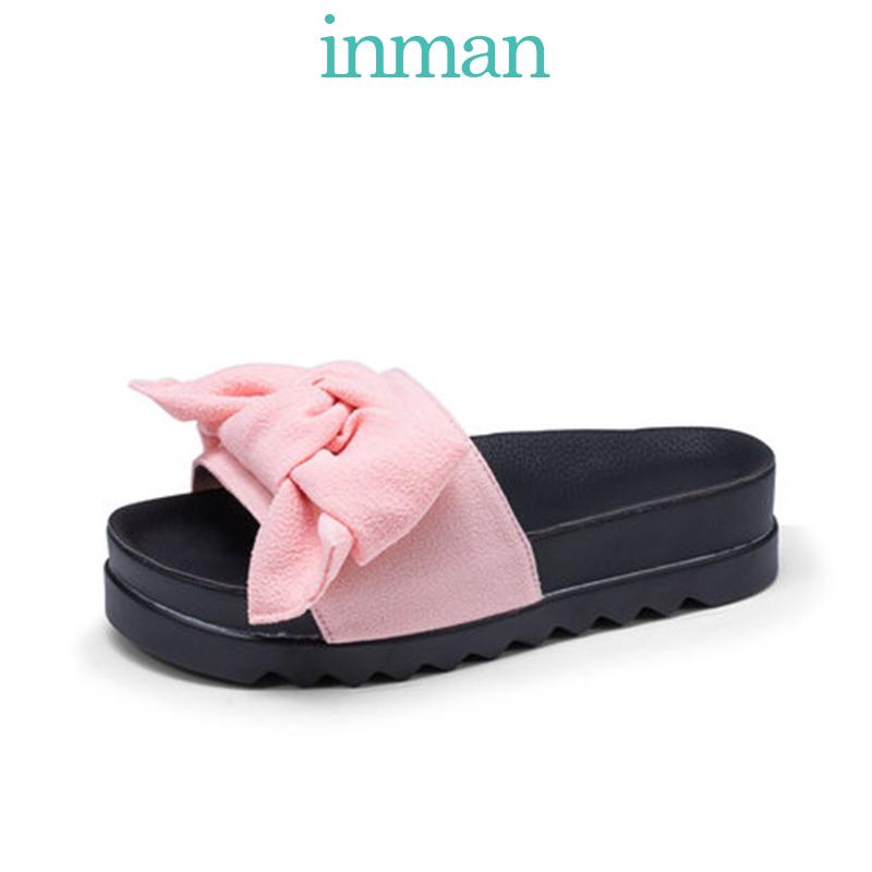 茵曼(INMAN) 4882060167 女士平底凉鞋 69元