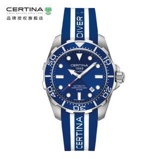 雪铁纳(CERTINA)瑞士手表动能系列胶带机械男表 C013.407.17.041.00 3720元