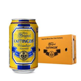 OETTINGER 奥丁格 自然浑浊型 小麦啤酒 330ml 24听 普通装 89元
