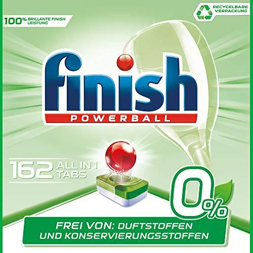 ¥173.83 Finish 亮碟 0% 洗碗机专用洗涤块 162块