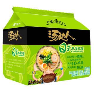 统一 汤达人 日式豚骨味方便面 五连包 660g 18.06元