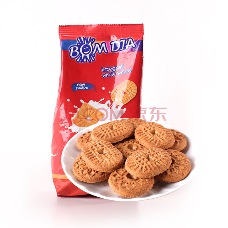 宝迪亚 全麦饼干 500g/袋 *3件 30.45元(3件7折)