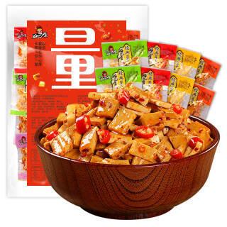 31日16点:好巴食 豆腐干 休闲零食 豆干素食 独立小包装多种口味混合装1000g 21.9元