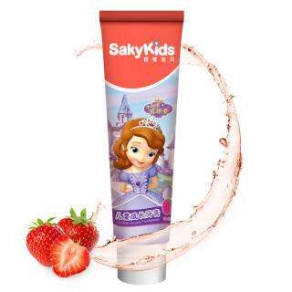 舒客(Saky) 宝贝儿童成长牙膏 草莓味 60g 5.8元
