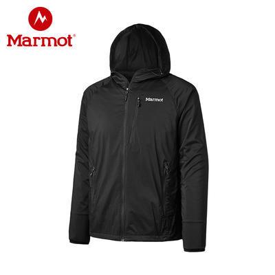 13日0点: Marmot 土拨鼠 R52930 男款户外夹克带帽神衣 379元