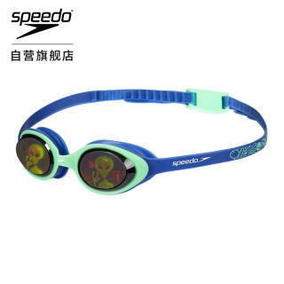 Speedo/速比涛 儿童泳镜 魔幻贴片面镜 均码 蓝色/绿色 811597C620 95.7元