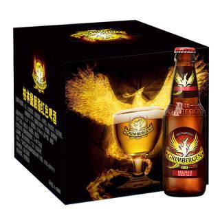 格林堡(GRIMBERGEN)胭脂红色啤酒 法国进口 330ml*8瓶 礼盒装 *3件 291.9元(合97.3元/件)