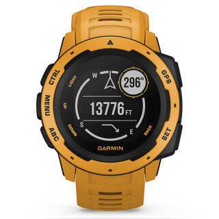 佳明 GARMIN instinct本能系列 GPS蓝牙多功能跑步智能运动表智能心率防水 军表 旭日黄 2080元
