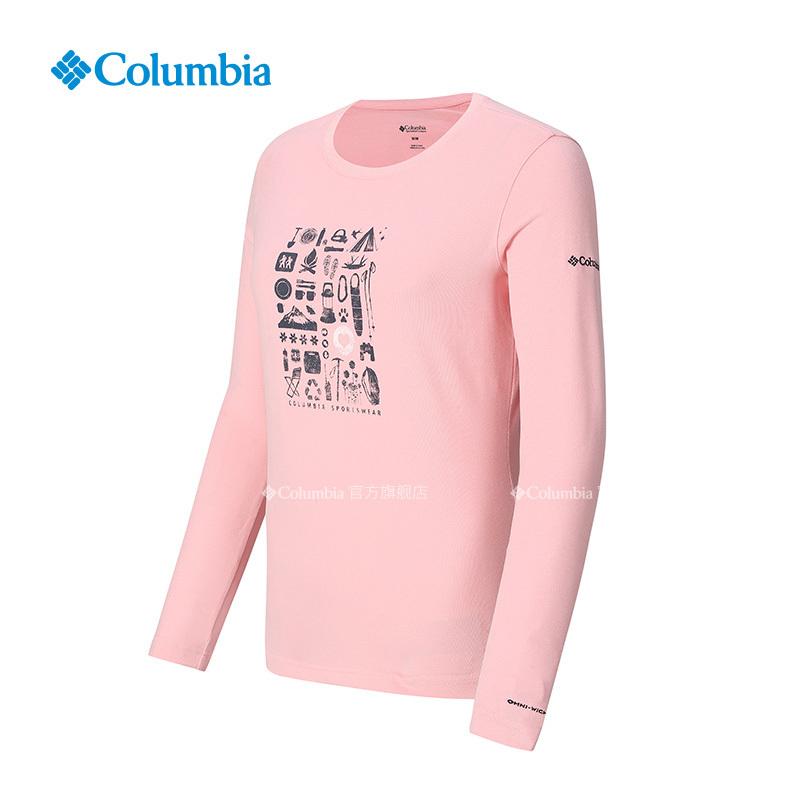 Columbia/哥伦比亚户外女款吸湿长袖T恤PL2809 167.2元