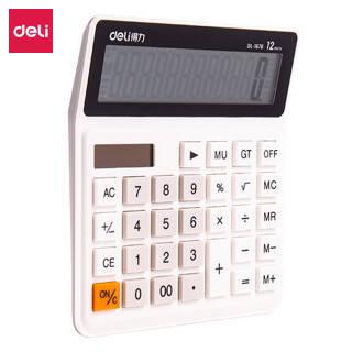 得力(deli) 1676 双电源桌面计算器 *2件 47.7元(合23.85元/件)