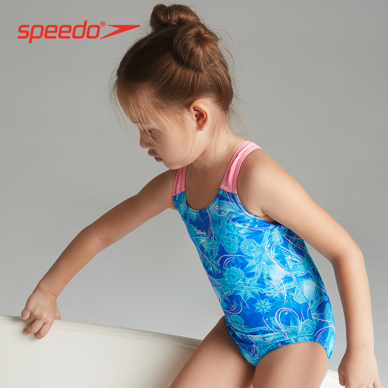 Speedo/速比涛 婴幼儿 迪士尼系列 冰雪奇缘儿童连体泳衣抗氯女 179.2元