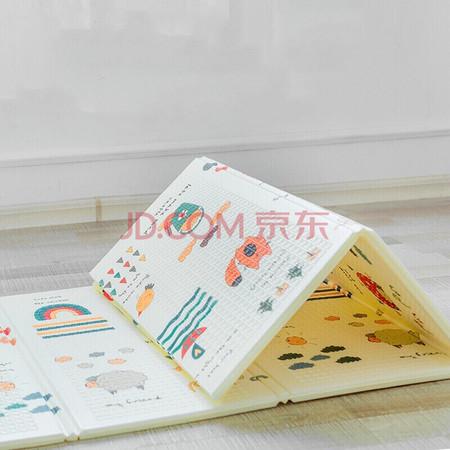 拥抱熊 儿童XPE双面爬行垫 200*150*1cm 59元包邮(需用券) ¥59