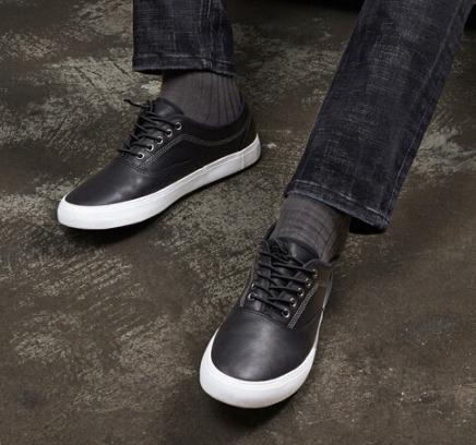InteRight 男士牛皮低帮系带休闲鞋 *2件 85.84元(合42.92元/件)