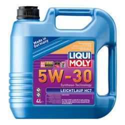 京东商城 LIQUI MOLY 力魔 雷神 HC7 全合成机油 5W-30 SN/CF级 4L 德国原装进口 309元包邮(需用券)