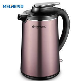 美菱(Meiling) MH-1831 电水壶 1.8L *3件 297元(合99元/件)