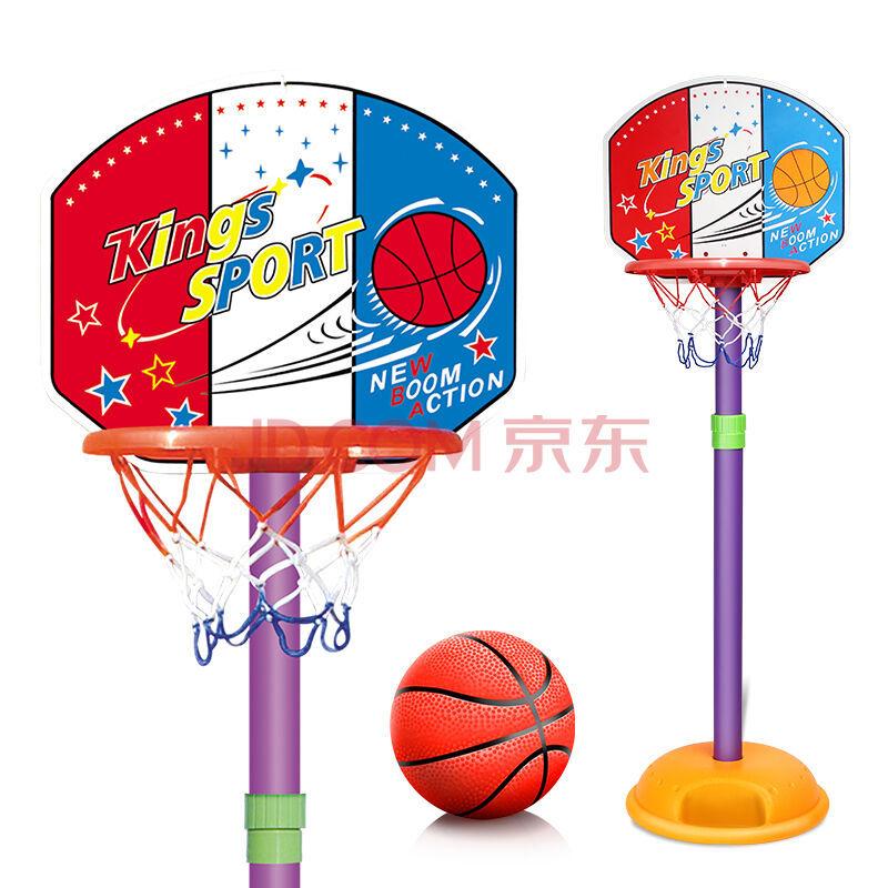豆豆象 儿童篮球架 可升降投篮框 34.5元包邮