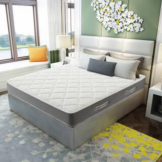 喜临门 乳胶弹簧床垫 软硬两用床垫 邦尼尔弹簧床垫 皓月白 1.8米*2.0米*0.2米 1399元
