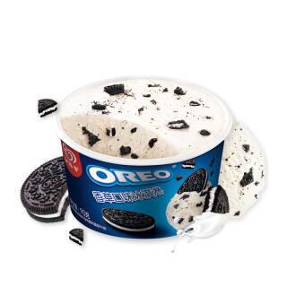 和路雪 OREO奥利奥 香草口味 冰淇淋家庭装 93g*3杯 雪糕 *7件 84.56元(合12.08元/件)